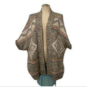 American Eagle Chunky Southwest Cardigan Sweater